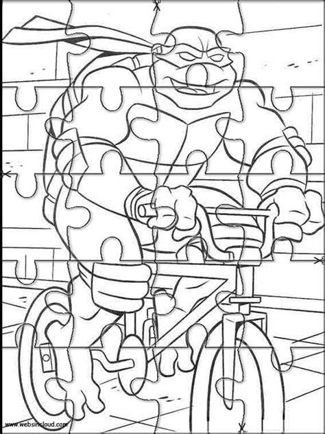 printable turtle puzzle imrpimir actividades puzzles rompecabezas tortugas ninja 13