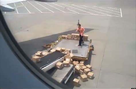 china air freight worker throws boxes like it ain t no thang huffpost