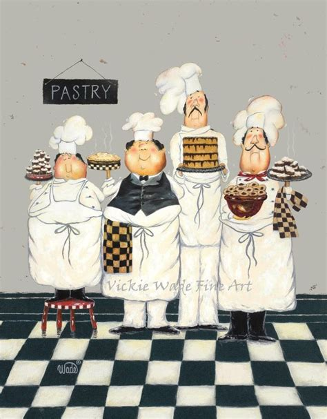 fat chef kitchen decor with kitchen wall border fat chefs art print chef paintings art kitchen art wall