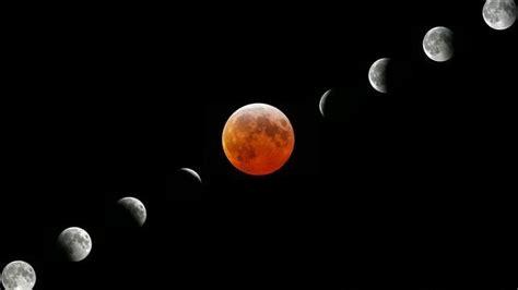 imagenes el sol y la luna recomendaciones para fotografiar el eclipse de luna roja
