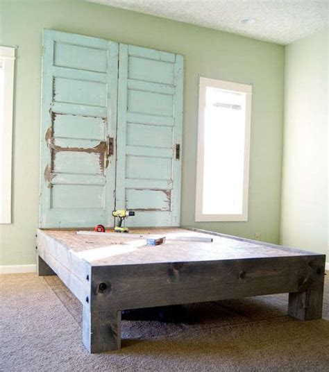 Furniture Made From Old Doors Recycling Old Wooden Doors And Windows For Home Decor