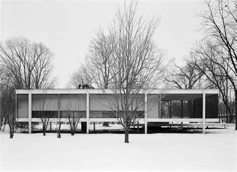 mies der rohe farnsworth house arte contempor 225 neo the glass house philip johnson