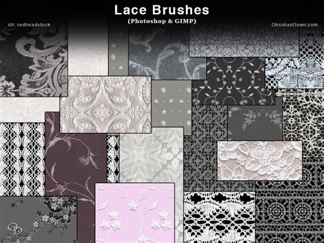 make seamless pattern gimp lace photoshop and gimp brushes by redheadstock on deviantart