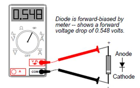 diode quiz questions multimeter check of diodes basic and tutorials basic electronics projects and tutorials