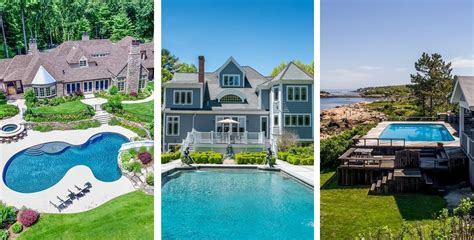design home boston magazine five homes for sale with incredible pools boston magazine