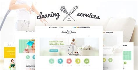 cleaning company janitorial service theme by ancorathemes