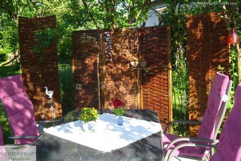 sicht und lärmschutz für den garten zaun weide design
