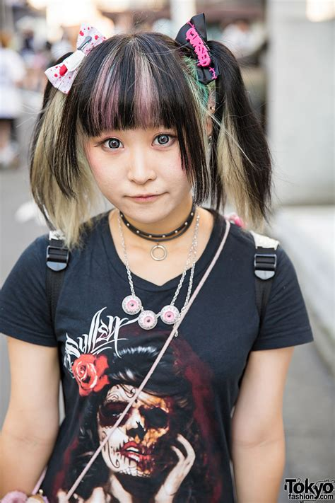 Fashion Teady 016 tailed harajuku w quot cursed quot hair bow eyeball