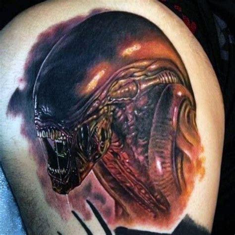 xenomorph tattoo 50 xenomorph designs for ink ideas
