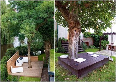 backyard tree ideas 10 wonderful ideas to decorate an outdoor tree