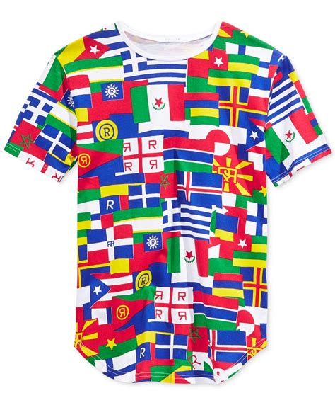 flags of the world hoodie reason men s flags of the world graphic t shirt for men lyst