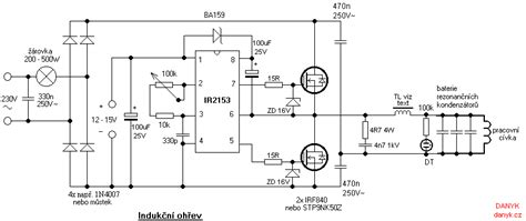 induction heater circuits induction heating i