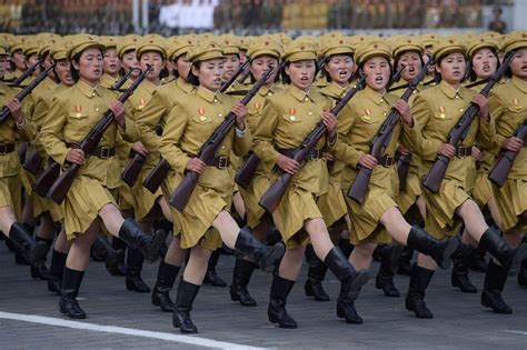 north korea historic north korean parade shows kim jong un s military