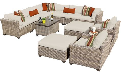 Outdoor Furniture Lounge Sets Modern Wicker Patio Furniture Inspiration Decorating