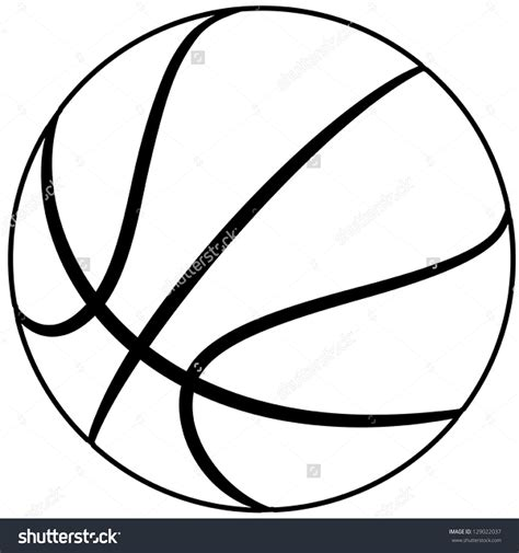 basketball clipart vector basketball clipart outline clipartsgram