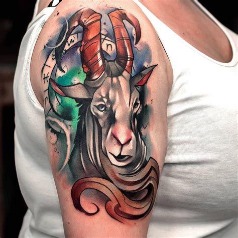 Capricorn Tattoo Hd | capricorn tattoo zodiac takvim kalender hd