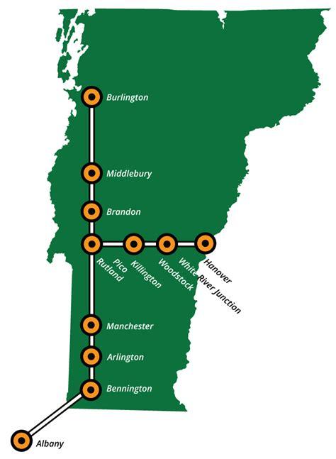 uvm cus map routes