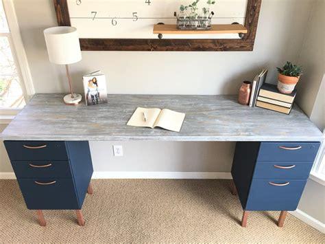 file cabinet desk diy home office makeover part 5 the diy file cabinet