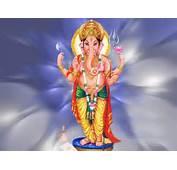 Beautiful 3D Ganesh Wallpaper Lord Ganpati Cartoon Picture Photo