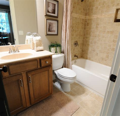 Home Bathroom | big canoe model homes contemporary bathroom atlanta