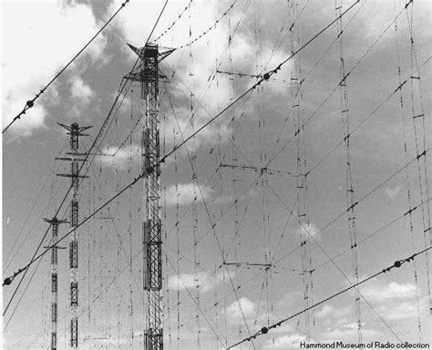sterba curtain cbc station cba curtain antennas sackville nb circa 1940 s