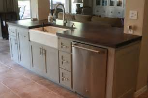 kitchen island sink ideas small kitchen island with sink and dishwasher kitchen