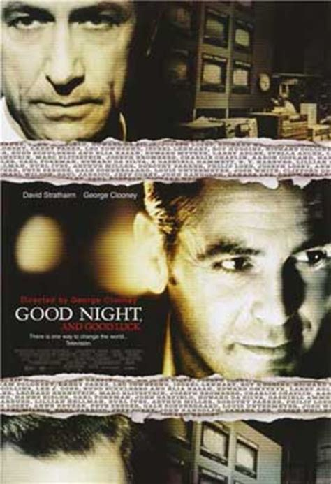 Good Night Good Luck 2005 Good Night And Good Luck Movie Posters From Movie Poster Shop