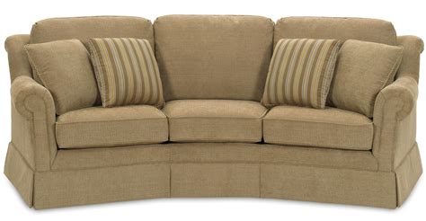 sofa with skirted base temple furniture bayside traditional conversation sofa