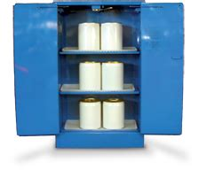 Msds Storage Cabinet by Corrosive Storage Cabinet 250l Ecospill Spill Kits