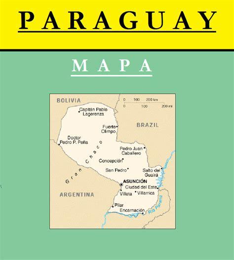 imagenes satelitales paraguay escudo de mapa de paraguay