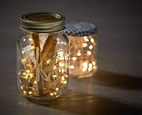 Lights In Jars by Rainy Days Lets Get Organised Stakelums Home Hardware