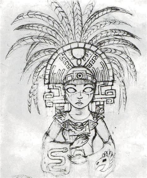 imagenes aztecas de mujeres dibujos de mujeres aztecas pictures to pin on pinterest
