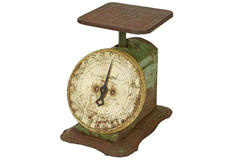 Vintage Kitchen Scales by Rustic Vintage Kitchen Scale Omero Home