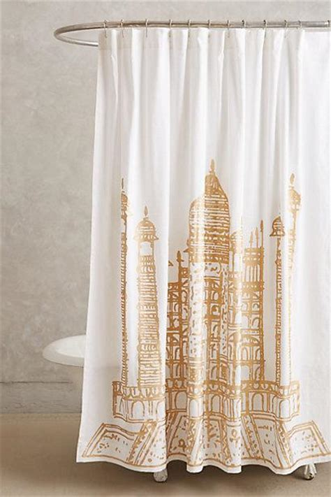 white and gold shower curtain gold ikat chevron shower curtain