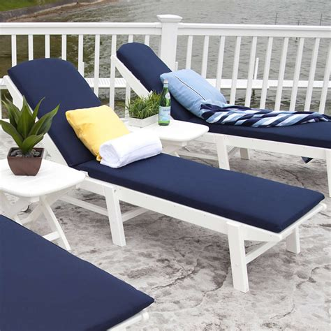 White Lounge Chair Outdoor Design Ideas Outdoor Chaise Lounge Cushions Blue Modern Patio Outdoor