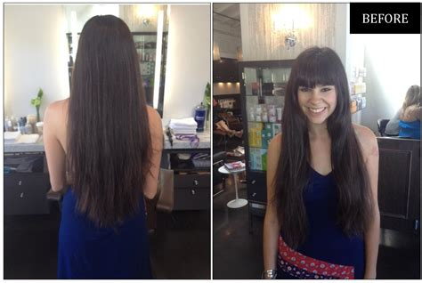 pictures of before and after curly hair makeover make the cut 12 inches of hair neil george