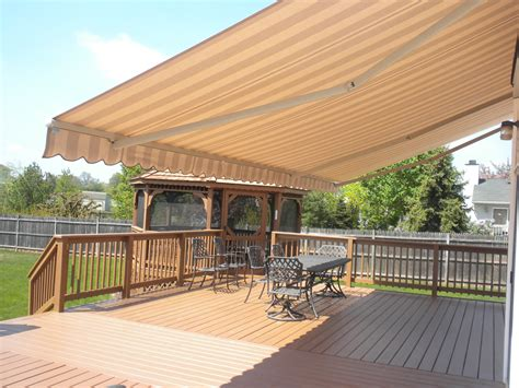 electric awnings for decks automatic awnings for decks 17 best images about