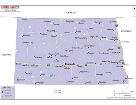 printed road maps buy printed dakota road map