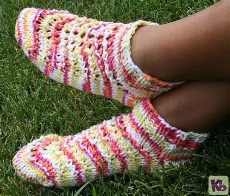 free knitting loom patterns for beginners summer footies 171 kb looms