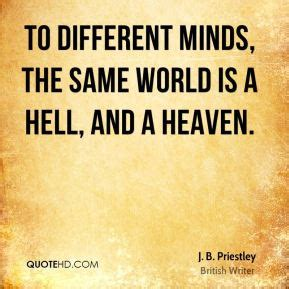 Is Hell By Various Authors j b priestley quotes quotehd