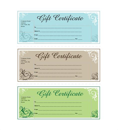 Custom Gift Card Template by Discreetliasons Official Gift Certificate Template