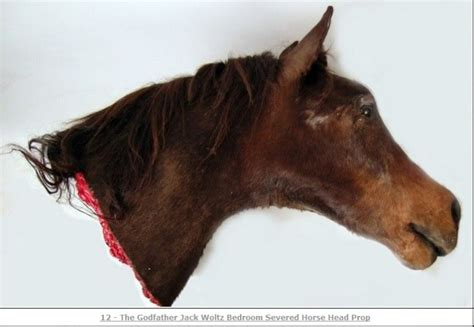 fake horse head an offer you can t refuse godfather horse s head up for sale