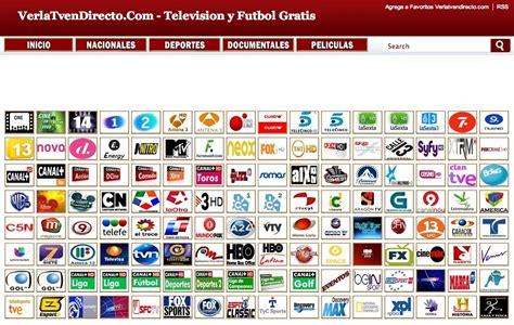 ver canales de tv en vivo por internet online la tv en vivo por internet ver tv por internet en vivo tv