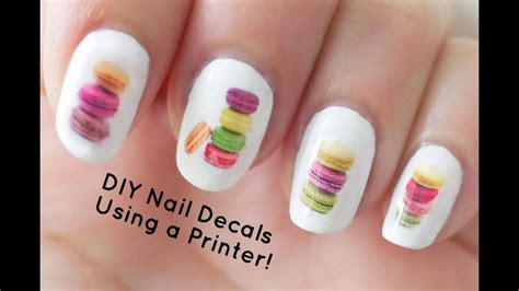 Nail Decals by Diy Nail Decals Using A Printer