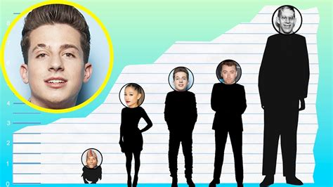 charlie puth tall how tall is charlie puth height comparison youtube