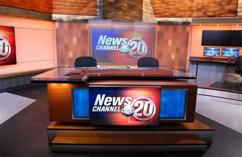 Abc News Desk by Springfield Abc Receives Mid America Emmy Nomination