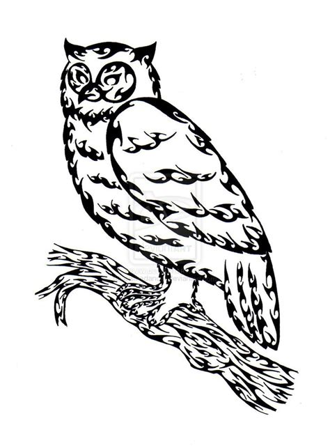 owl outline tattoo designs 25 best ideas about outline drawing on