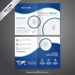 Company Catalogue Template by Brochure Template In Blue Tones Vector Free