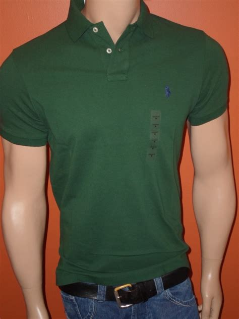 Hoodie Polos Resleting Ready All Colour Nwt Polo Ralph Custom Fit Mesh Solid Shirts All