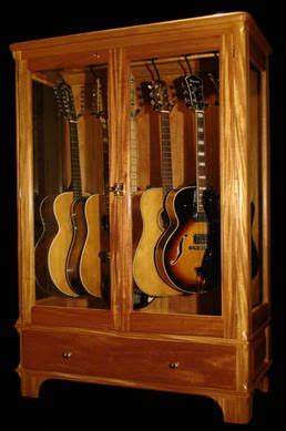 build  gun display cabinet woodworking projects